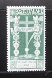Poštovní známka Itálie 1937 Øímský køíž Mi# 579