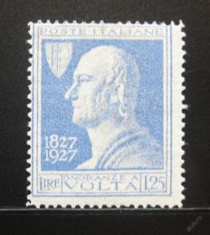 Poštovní známka Itálie 1927 Alessandro Volta Mi# 262 Kat 11€