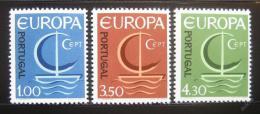 Poštovní známky Portugalsko 1966 Evropa CEPT Mi# 1012-14 Kat 25€