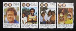 Poštovní známky Tonga 1990 Rotary Intl. Mi# 1148-51