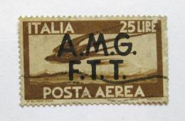 Poštovní známka Itálie 1947 Okupace, letecká SC# 1LNC6 Kat $35