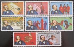 Poštovní známky Rovníková Guinea 1976 Rowland Hill Mi# 1557-64