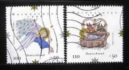 Poštovní známky Nìmecko 1999 Vánoce Mi# 2084-85