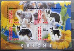 Poštovní známky Kongo 2013 Psi