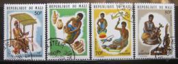 Poštovní známky Mali 1974 Øemeslníci Mi# 448-51
