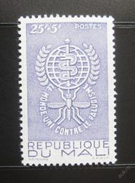 Poštovní známka Mali 1962 Boj proti malárii Mi# 49