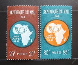 Poštovní známky Mali 1962 Africká poštovní unie, UPAF Mi# 51-52