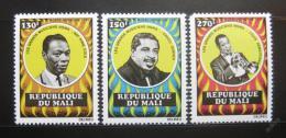 Poštovní známky Mali 1971 Ameriètí hudebníci Mi# 298-300 Kat 12€