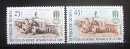 Poštovní známky Mali 1963 Boj proti hladu Mi# 60-61
