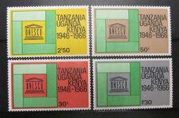 Poštovní známky K-U-T 1966 UNESCO Mi# 156-59