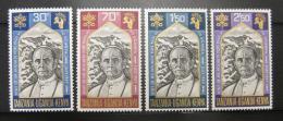 Poštovní známky K-U-T 1969 Papež Pavel VI. Mi# 189-92