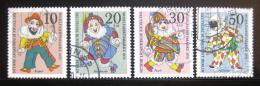 Poštovní známky Západní Berlín 1970 Loutky Mi# 373-76 - zvětšit obrázek