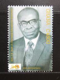 Poštovní známka Ghana 2007 F. K. Buah, historik Mi# 4008
