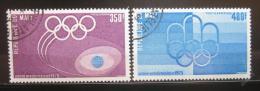 Poštovní známky Mali 1975 Pre-olympijský rok Mi# 503-04
