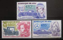 Poštovní známky Mali 1984 Gottlieb Daimler Mi# 1008-10 Kat 15€