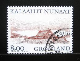 Poštovní známka Grónsko 1999 Vikingský kostel Mi# 342