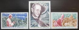 Poštovní známky Dahomey 1966 Papež Pavel VI. Mi# 282-84