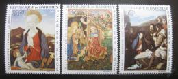 Poštovní známky Dahomey 1966 Umìní Mi# 293-95 Kat 20€
