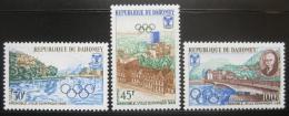 Poštovní známky Dahomey 1967 ZOH Grenoble Mi# 325-27