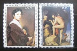 Poštovní známky Dahomey 1967 Umìní, Ingres Mi# 307-08