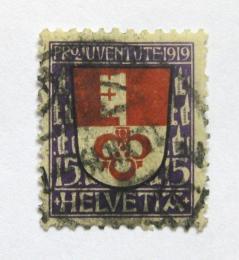 Poštovní známka Švýcarsko 1919 Erb Obwalden Mi# 151 Kat 10€