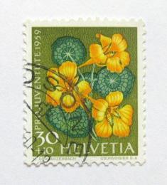Poštovní známka Švýcarsko 1959 Øeøicha Mi# 690