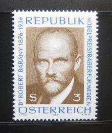 Poštovní známka Rakousko 1976 Dr. Robert Bárány, lékaø Mi# 1509