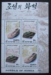 Poštovní známky KLDR 1995 Fosílie Mi# 3731-32