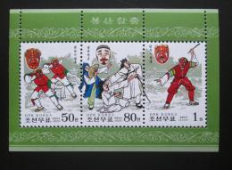 Poštovní známky KLDR 2000 Národní tanec Mi# Block 445