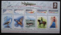 Poštovní známky KLDR 1999 Darwinova teorie Mi# Block 423