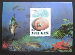 Poštovní známka KLDR 1994 Podmoøská fauna Mi# Block 305