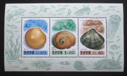 Poštovní známky KLDR 1994 Mušle Mi# 3596,3599-3400