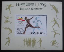 Poštovní známka KLDR 1991 LOH Barcelona Mi# Block 263