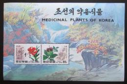 Poštovní známky KLDR 1994 Léèivé rostliny Mi# 3616-17