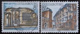 Poštovní známky Lucembursko 1982 Architektura Mi# 1056-57