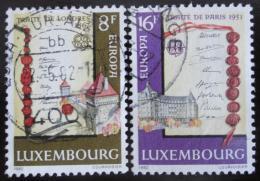 Poštovní známky Lucembursko 1982 Evropa CEPT Mi# 1052-53