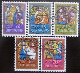 Poštovní známky Lucembursko 1987 Miniatury Mi# 1185-89 Kat 13€