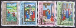 Poštovní známky Lucembursko 1988 Miniatury Mi# 1210-13