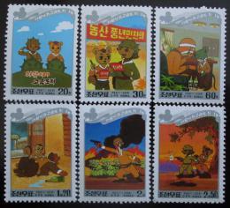 Poštovní známky KLDR 1998 Komiks Mi# 4040-45