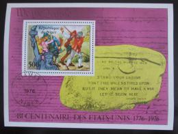 Poštovní známka Niger 1976 Americká revoluce Mi# Block 13