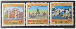 Poštovní známky Rakousko 1991 Vizuální umìní Mi# 2017-19