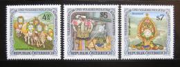 Poštovní známky Rakousko 1991 Lidové slavnosti Mi# 2041-43