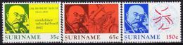 Poštovní známky Surinam 1982 Robert Koch Mi# 990-92