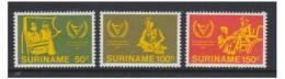 Poštovní známky Surinam 1981 Rok tìl. postižených Mi# 954-56