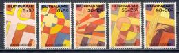 Poštovní známky Surinam 1985 Velikonoce Mi# 1125-29