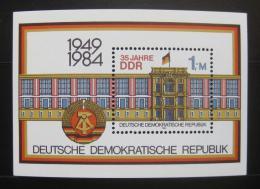 Poštovní známka DDR 1984 Výroèí vzniku Mi# Block 77