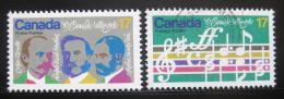 Poštovní známky Kanada 1980 Státní hymna Mi# 768-69