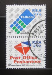 Poštovní známky JAR 1991 Poštovní služby, pár Mi# 823-24