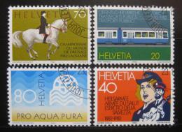 Poštovní známky Švýcarsko 1982 Výroèí a události Mi# 1232-35