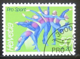 Poštovní známka Švýcarsko 1989 Gymnastika Mi# 1404